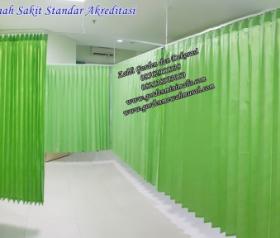 Gorden rumah sakit standar akreditasi Gorden anti bakteri Gorden anti Noda gorden plastik gorden blackout untuk rumah sakit