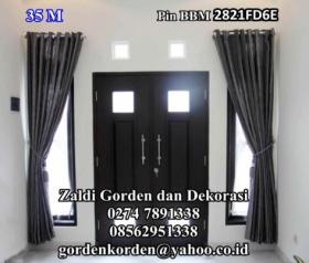 Gorden Minimalis rumah minimalis Tirai gorden