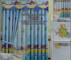 Gorden Anak dengan Bahan berkualitas (bahan Blackout bukan kain biasa)  sehingga sangat bermanfaat untuk untuk kamar anak, karena sinar uv matahari tidak bisa menembus ruangan anak, sangat di anjurka