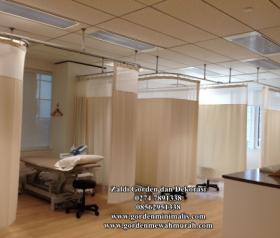 Gorden Rumah sakit murah anti noda darah dan anti tinta