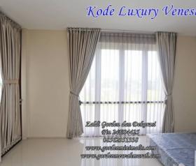 Gorden Jendela kamar gorden jendela ruang tamu menggunakan bahan blackout Luxury Venesia