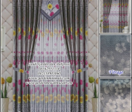 Gorden Minimalis modern bahan blackout Persia PEC 4