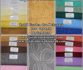 Gorden Murah Rp.35.000/meter dengan bahan yang bagus  kain gorden ini murah dan berkualitas
