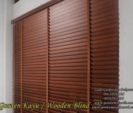Tirai Kayu Krey Kayu outdoor maupun indor Gorden kayu murah minimalis wooden blind