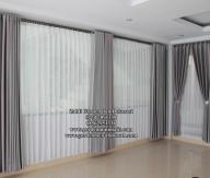 Gorden Blackout model Smokering untuk rumah minimalis modern dan untuk hotel