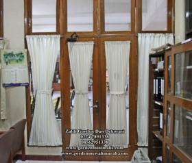 Gorden Pita untuk jendela rumah minimalis