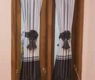 Gorden Pita gorden jendela rumah minimalis gorden stik spiral
