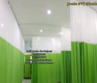 Gorden rumah sakit bahan pvc anti noda anti bakteri