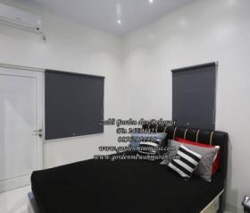 Gorden Roller blind bahan blackout berkualitas gorden untuk kamar jendela minimalis