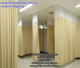 gorden rumah sakit murah bahan anti noda anti bakteri standar akreditasi
