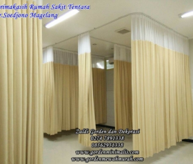 Gorden Rumah sakit Gorden anti noda darah Gorden ruang operasi