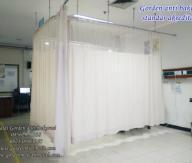 Gorden rumah sakit mengunakan bahan gorden anti bakteri dan gorden anti noda standar akreditasi