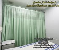 Jual gorden rumah sakit murah bahan kain anti noda anti bakteri standar akreditasi rumah sakit