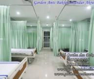 gorden sekat rumah sakit