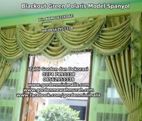Gorden Blackout dibuat menjadi model spanyol, perpaduan keindahan dengan bahan istimewa Vertikal blind onna Rp.45.000/m vertikal blind murah vertikal blind termurah di indonesia   Gorden Blackout dibu