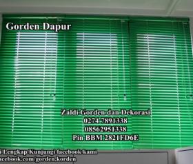 Jual gorden Horizontal blind harga murah berkualitas tersedia juga krey kayu wooden blind vertikal blind Tirai Slimline standar