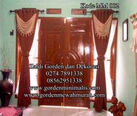 Kode Gorden Minimalis terbaru untuk jendela rumah