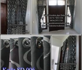 Langsir terbaru gorden minimalis rumah jendela kecil toko online