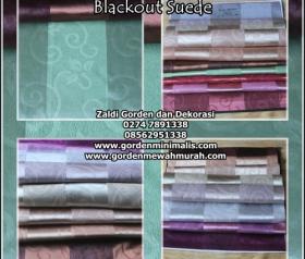 Gorden Blackout mewah dengan harga termurah SeIndonesia  Gorden Anti sinar ultraviolet matahari ( atau sering disebut dengan kain Blackout ini) Sangatlah bermanfaat, selain bahannya yang tebal... kai
