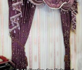 Jual gorden model spanyol  harga kain gorden Rp.65.000/meter harga vitrage Rp.70.000/meter Harga renda gorden Rp.25.000,-/meternya   Model gorden ini sangat cocok digunakan untuk acara - acara pernik