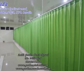 Jual Tirai gorden plastik PVC untuk rumah sakit standar akreditasi