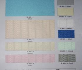 pilihan warna Vertikal blind